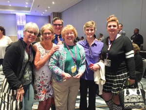MJ Caswell, Ginger Pierson, Tim Waud, Jacki Allender, Sandi Rousseau, and Michelle Jacobs-Brown.