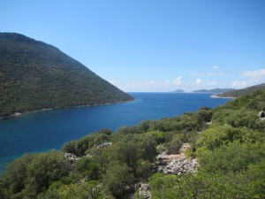 The ancient city of Aperlai on the Lycian Way