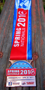 USMS Spring Nationals 2016 Medal