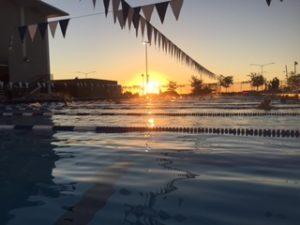 College of San Mateo pool