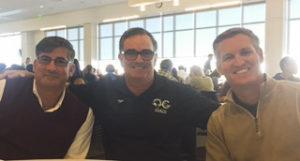 Dave Weirdsma, Tim Waud, and USMS CEO Dawson Hughes