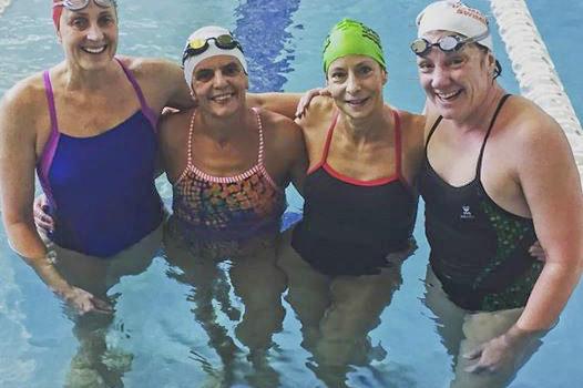 Karen Andrus-Hughes, Colette Crabbe, Arlene Delmage, Valerie Jenkins