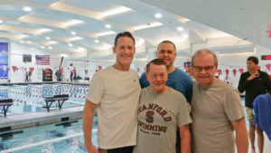 Scott Sullivan, Barry Fasbender, Matt Miller and Dave Hathaway at TOC 1500 by the competition pooll
