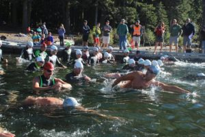 Lake of the Woods Swim Start
