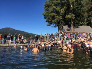 Lake of the Woods Swim Start