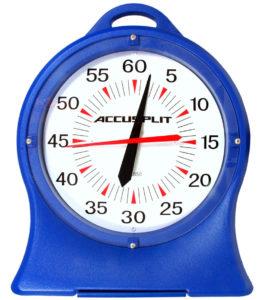 Analog pace clock