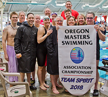 Oregon City Tankers take home the Team Spirit Award