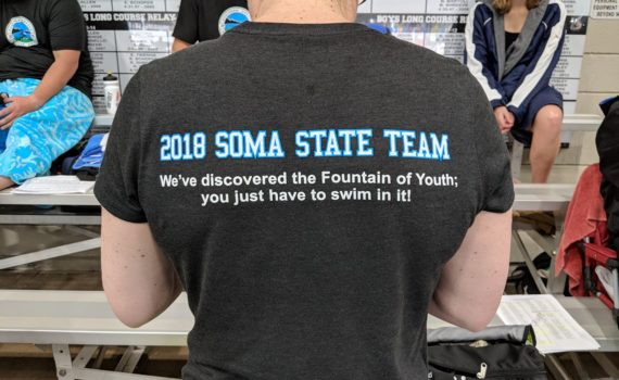 SOMA State Team T-shirt back