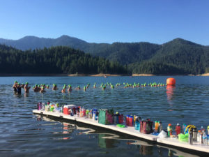 Ready for the start of the 10 K at Applegate Lake