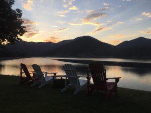 Sunset at Applegate Lake