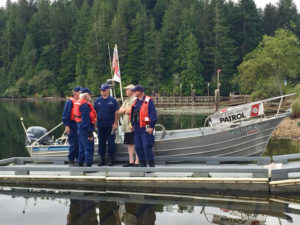 Coast Guard on hand to help with safety