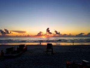 Dayton Beach Open Water Sunrise
