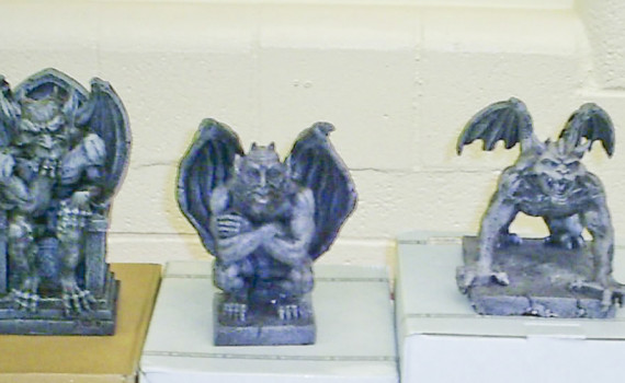 2015 Canby Animal Gargoyles