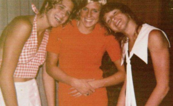Kim Peyton, Karen Andrus and Kelly Peyton
