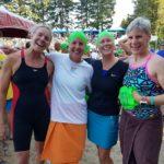 Sue Phillips, Britta Daubersmith, Larissa Lodzinski, Laurie Kilbourn