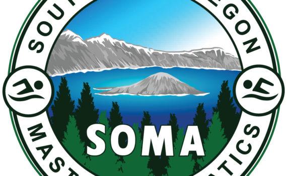 Southern Oregon Masters Aquatics (SOMA) Logo
