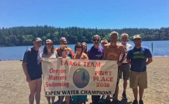 COMA is large team open water champs