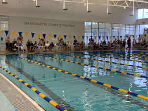 The new, state-of-the-art Aquatic Center in Newberg where the Chehalem meet was held