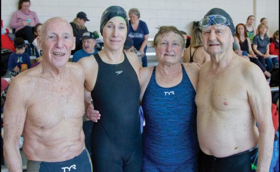 David Radcliff, Margaret Toppell, Janet Gettling, and Willard Lamb