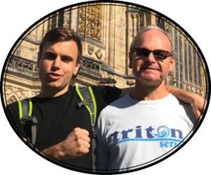 David Hathaway and son Travis