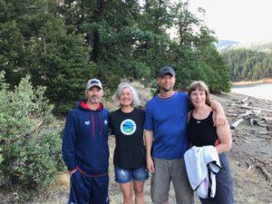 Christian Tujo, Linda Parmentier-Nesbitt, Matt Osborn and Connie Wilson