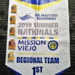 2019 USMS Summer Nationals - Banner OMS won 1st in the Regional Team category