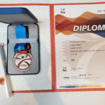FINA - 100 breast medal with Diploma