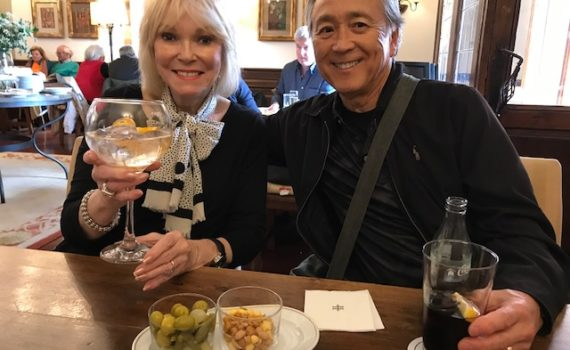 Ron Nakata and his wife of 55 years, Wanda