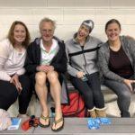 Emily Grassman, Tom Phipps, Kirsti Golgotiu, and Mary Ann Decker Oregon City Tankers