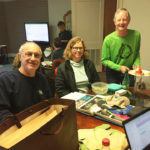 Bob Bruce, Susie Young and Steve Darnell