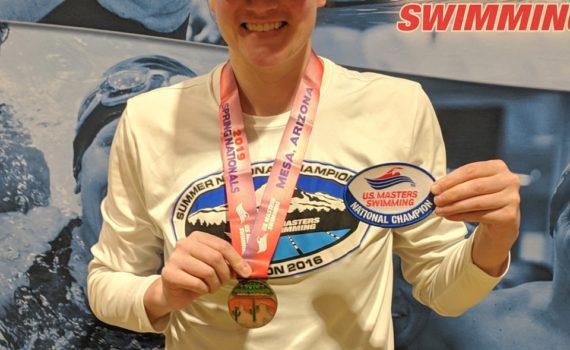 Sara Shepherd National Champion - 200 IM