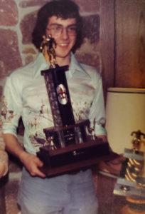 Rick Howell--Kelso High School Awards Banquet 1977