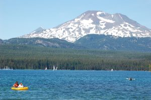 Elk Lake with South Sister in Background