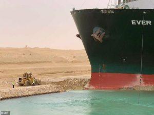 The Ever Given megaship blocked Egypt's Suez Canal